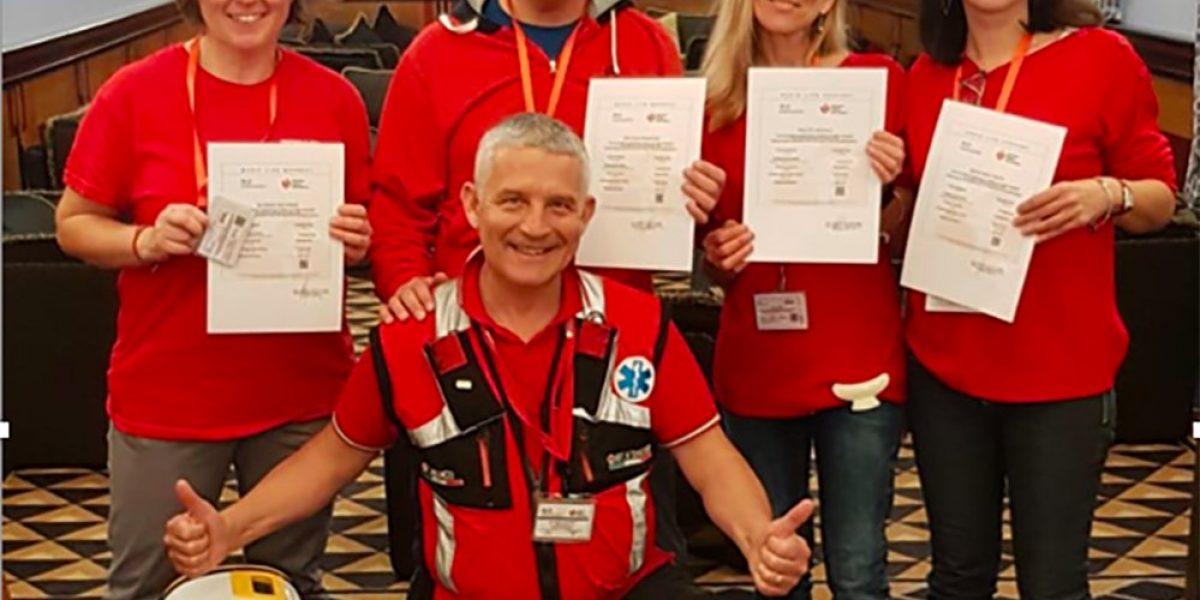 Altri 4 medici terminano il percorso Istruttori Bls-Hcp con AED American Heart Association con il nostro ITC