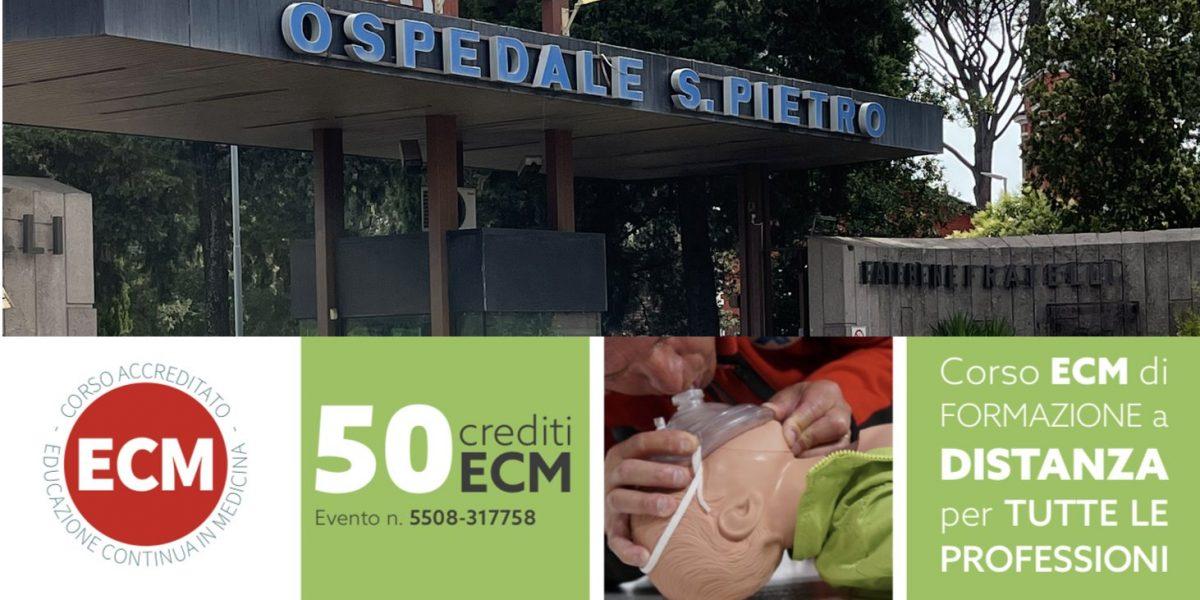 FBF: Ripartiremo a settembre con i corsi BLSD Ospedalieri a Roma, Napoli, Benevento e Palermo con 50 ECM a discente